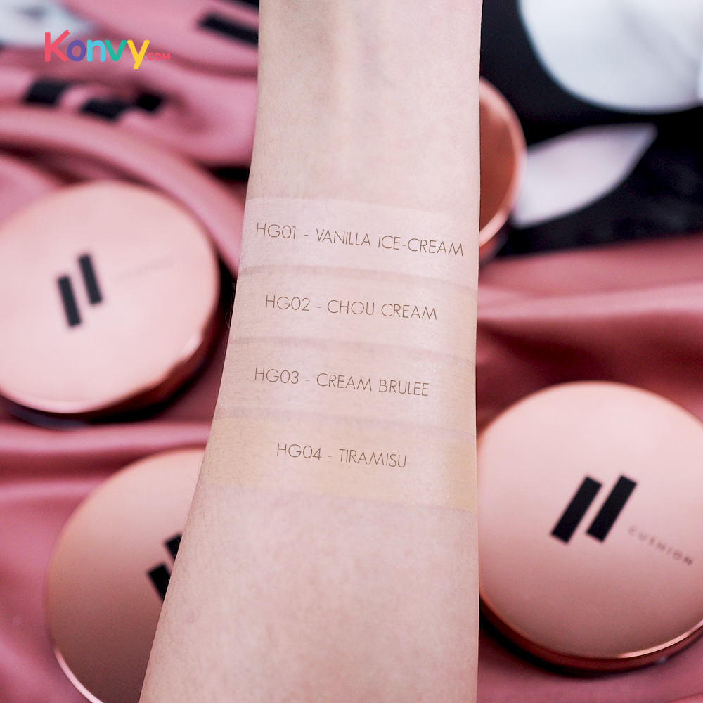 FIIT Everyday Cushion Healthy Glow SPF50+/PA+++ #01 Vanilla Ice Cream_4
