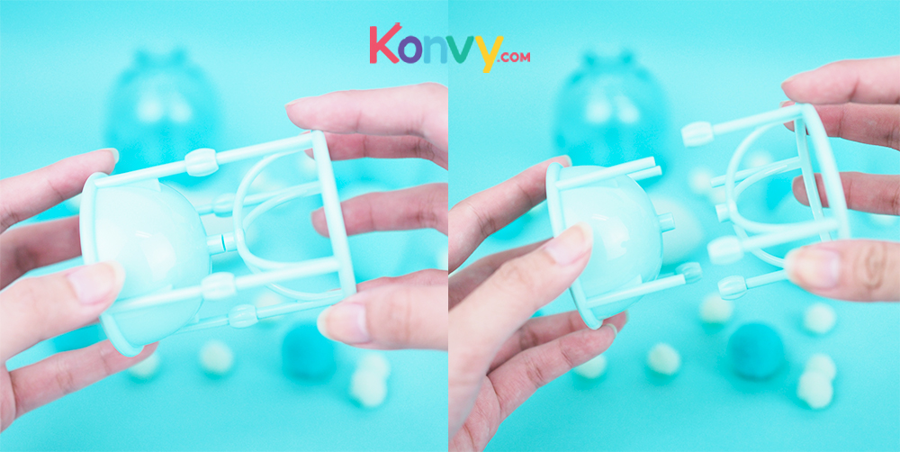 Oni 2 IN 1 Magic Sponge Holder #Green_3