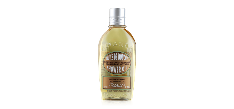 L'Occitane Shower Oil Cleansing And Softening With Almond Oil 250ml