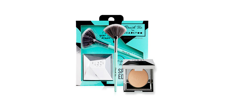 BrushToo Highlighter & Mini Fan Brush