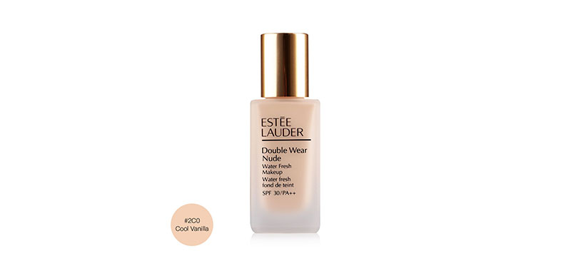 Estee Lauder Double Wear Nude Water Fresh Makeup SPF 30/PA++ 30ml #2C0 Cool Vanilla