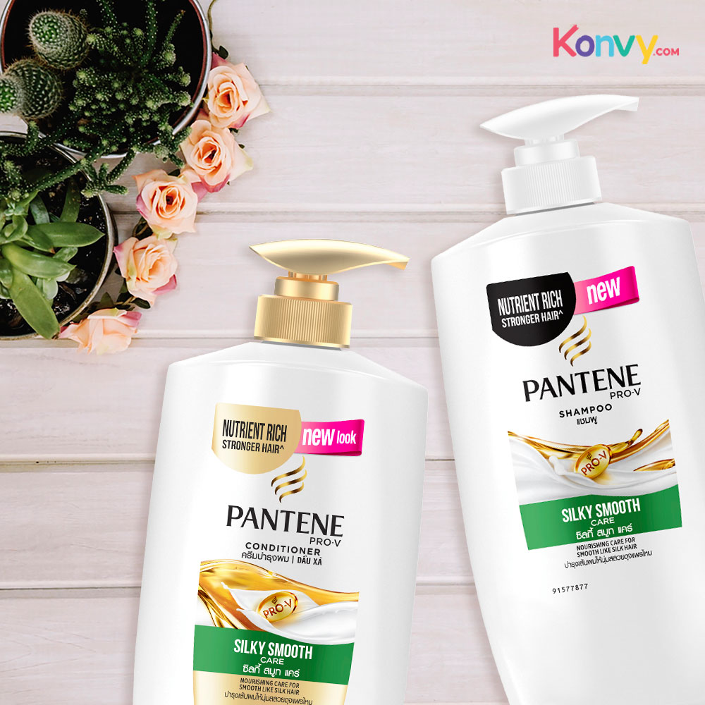 PANTENE Conditioner Silky Smooth Care 650ml
