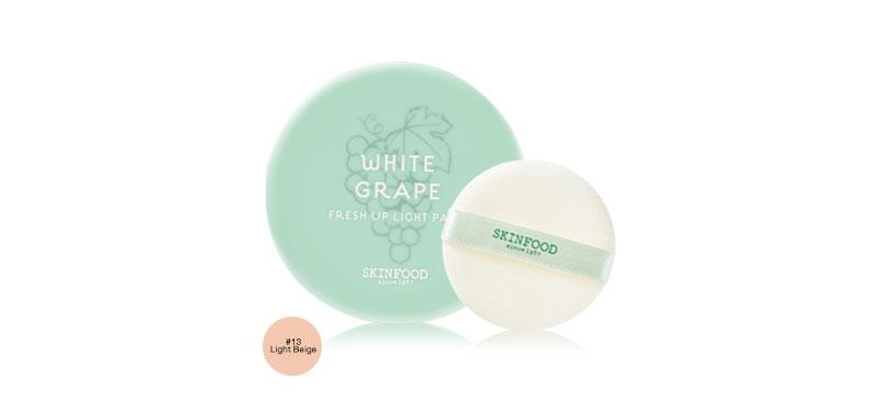 Skinfood White Grape Fresh Up Light Pact 12g #13 Light Beige