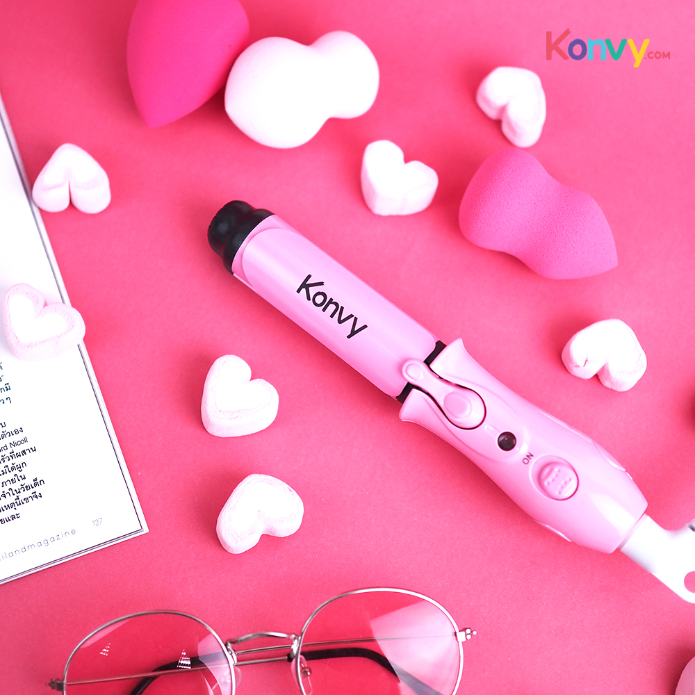 Konvy Perfect Convenient And Profession 2 in 1 Mini Hair Curler_1
