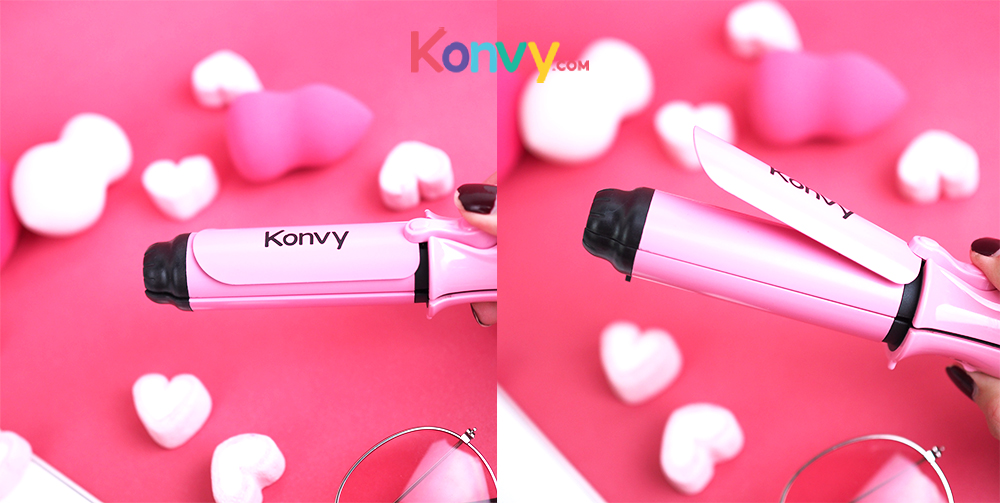 Konvy Perfect Convenient And Profession 2 in 1 Mini Hair Curler_2