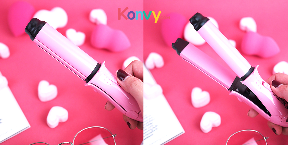 Konvy Perfect Convenient And Profession 2 in 1 Mini Hair Curler_3