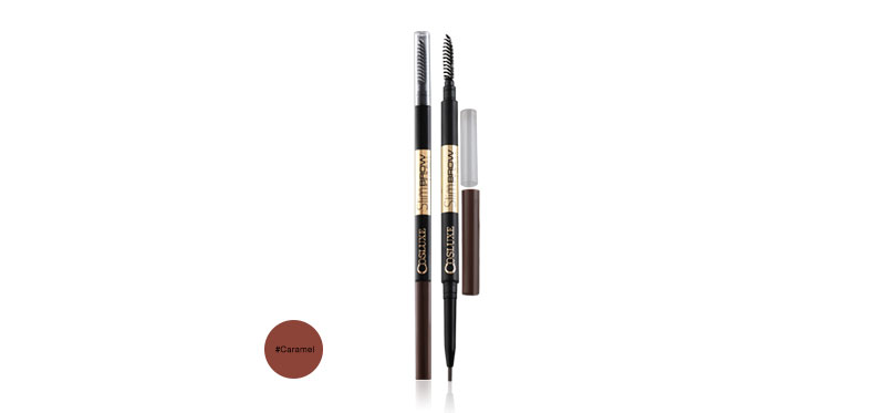 แพ็คคู่ Cosluxe SlimBrow Pencil (0.05g x2pcs) #Caramel