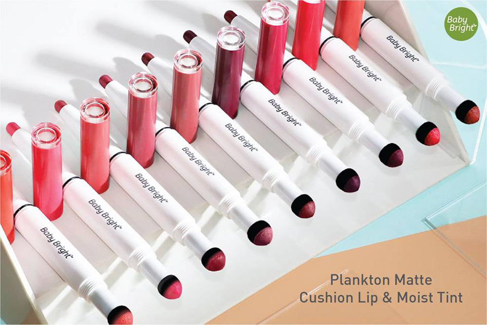Baby Bright Plankton Matte Cushion Lip & Moist Tint (0.7+0.9g) #08 Starfish_1