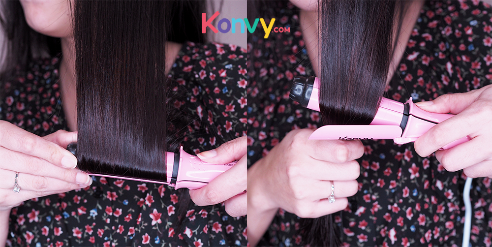 Konvy Perfect Convenient And Profession 2 in 1 Mini Hair Curler_4