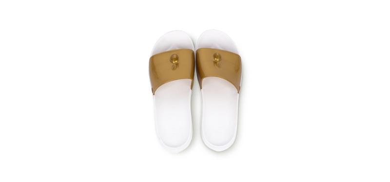 Eisaku Anti-slippery Fashion Colorful Slipper #Golden 39-40 250mm