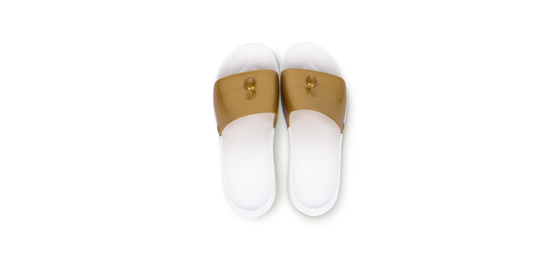 Eisaku Anti-slippery Fashion Colorful Slipper #Golden 44-45 250mm