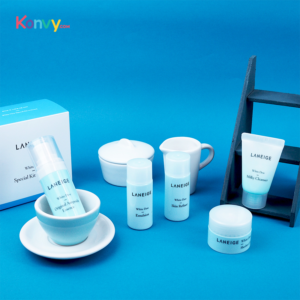 Laneige Set 5 items White Dew Special Kit