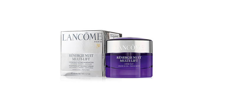 Lancome Renergie Nuit Multi Lift Redefining Lifting Night Cream For Face & Neck 50ml