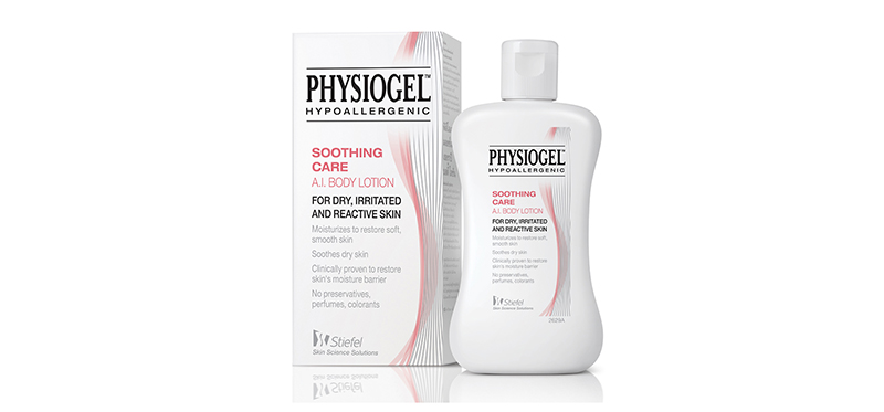 Physiogel Soothing Care Body Lotion for Dry, Irritated & Reactive Skin, 100ml