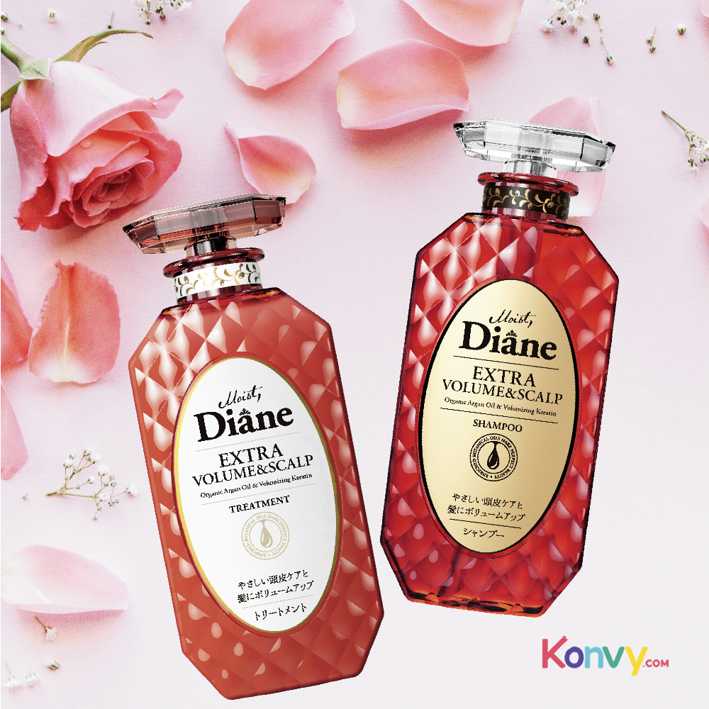Moist Diane Extra Volume & Scalp Shampoo 450ml