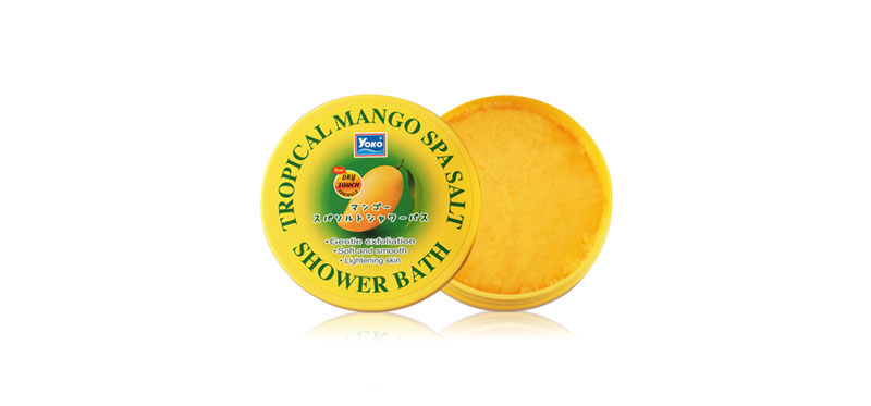 Yoko Tropical Mango Spa Salt Shower Bath 240g