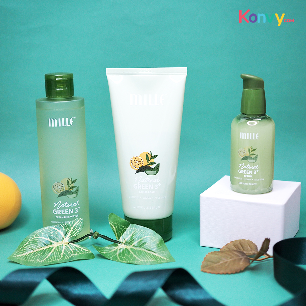 Mille Natural Green 3+ Cleansing Water 215ml_1