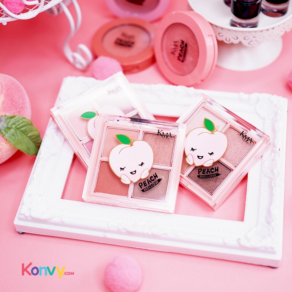KMA Peach Mellow Play Eye Color #NN Brownie Peach_2