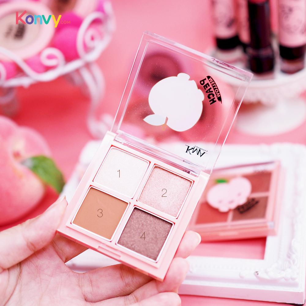 KMA Peach Mellow Play Eye Color #NN Brownie Peach_3