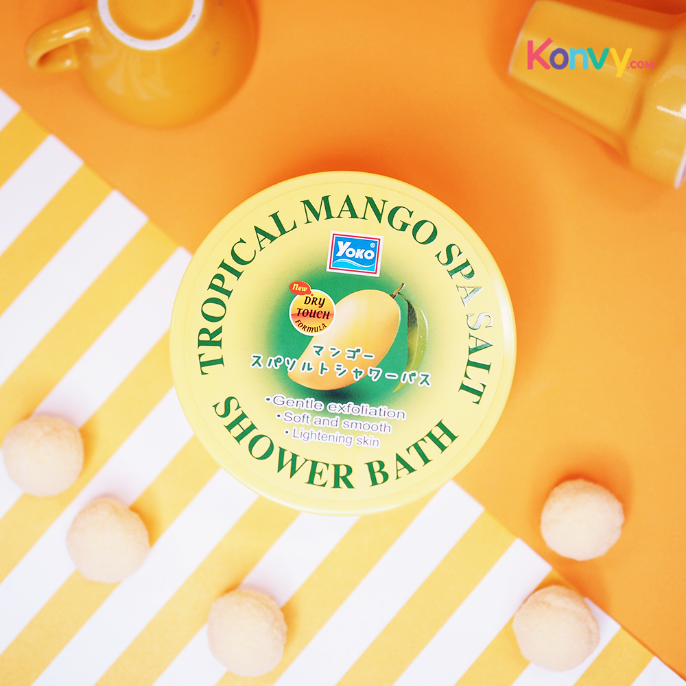 Yoko Tropical Mango Spa Salt Shower Bath 240g_1