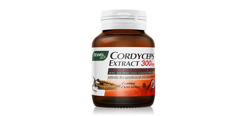 Bewel Cordyceps Extract 300mg 30 Tablets