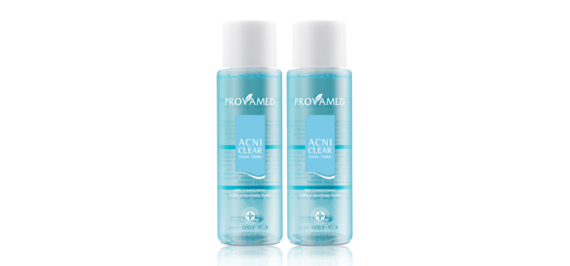 [แพ็คคู่] Provamed Acniclear Facial Toner [120ml x 2pcs]