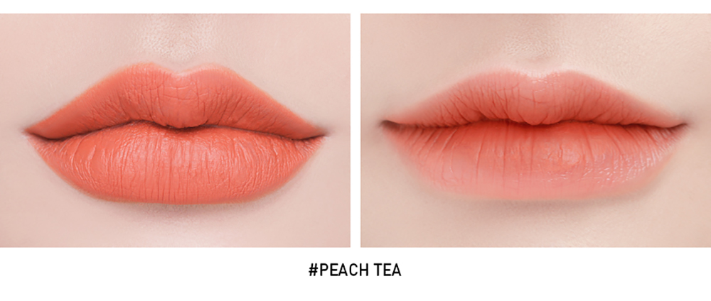 3CE Soft Lip Lacquer #Peach Tea_5