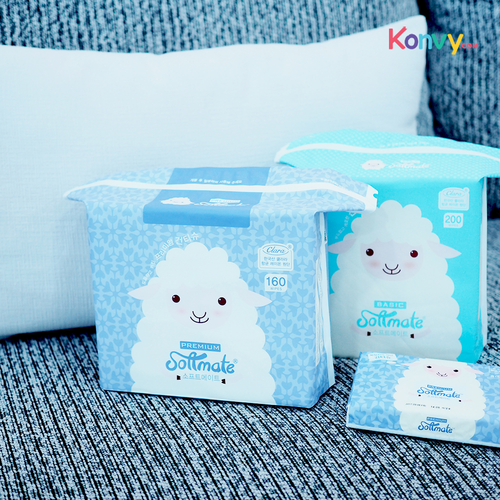 Solfmate Baby Dry Wipes Premium 160sheets_1