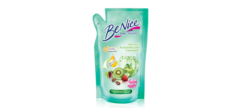 BeNice Shower Cream Cellulite Protection 400ml (Refill)