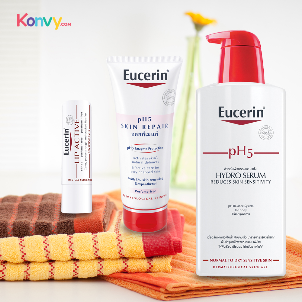 Eucerin PH5 Lip Active 4.8g