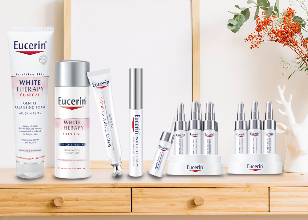 Eucerin White Gentle Clean Foam 150g