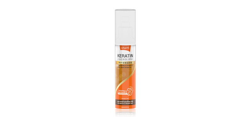 Lolane Keratin Leave in Oil Spray 140ml