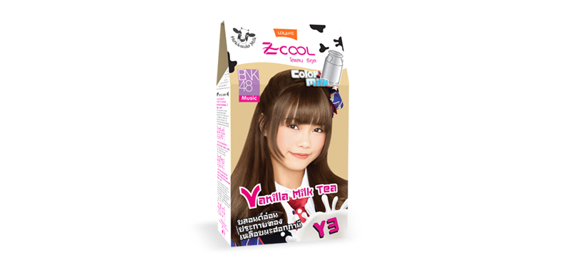 Lolane Z-Cool Color Milk Y3 Vanilla Milk Tea 8.35 45g