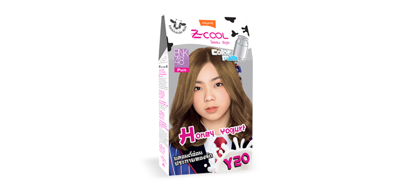 Lolane Z-Cool Color Milk Y20 Very Light Golden Blonde 8.33 45g
