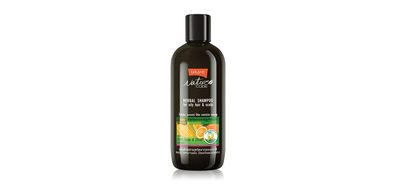 Lolane Nature Code Herbal Shampoo For Oily Hair & Scalp 280ml
