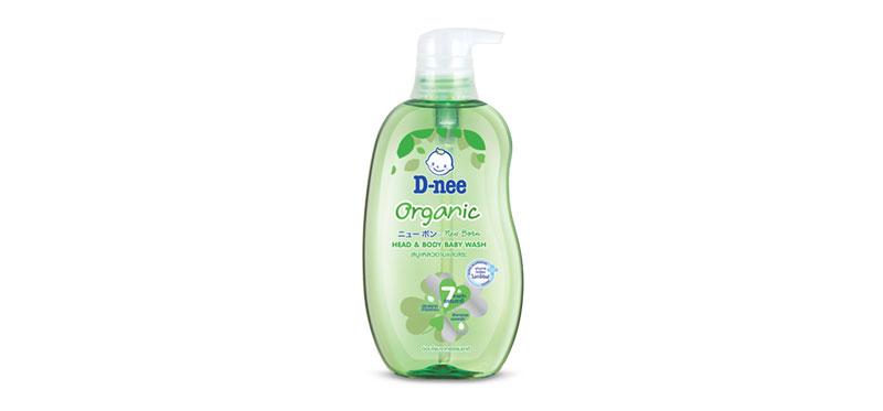 D-nee Head & Body Baby Wash Organic 380ml