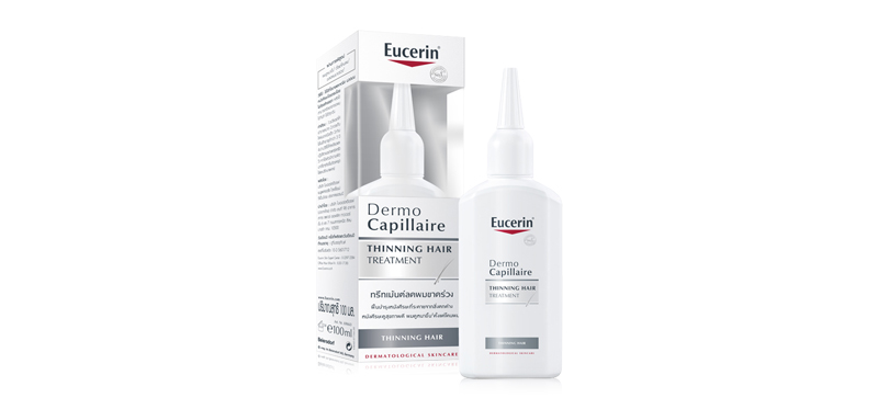 Eucerin Dermocapillaire Re-Vitalizing Scalp Treatment Thinning Hair 100ml