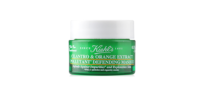Kiehls Cilantro & Orange Extract Pollutant Defending Masque 14ml