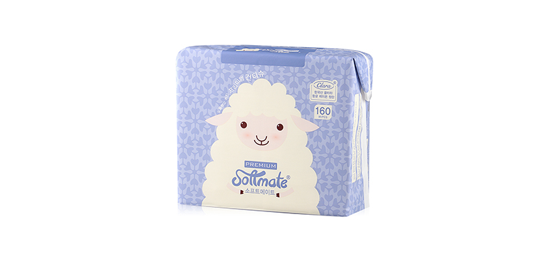 Softmate Baby Dry Wipes Premium 160sheets