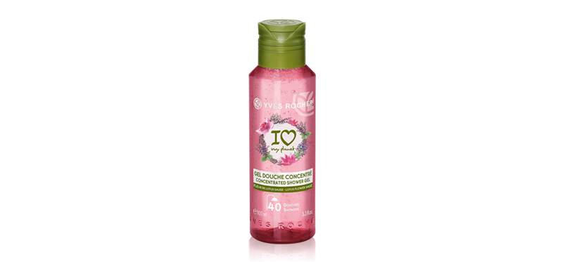 Yves Rocher Lotus Flower Sage Relaxing Bath & Shower Gel 100ml