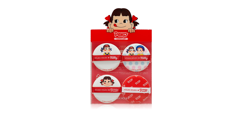 Holika Holika x Peko Chan Hard Cover Cushion Puff 4P