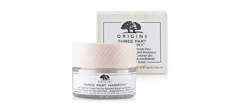 Origins Three Part Harmony Day/Night Eye Cream Duo For Renewal, Repair And Radiance 15ml