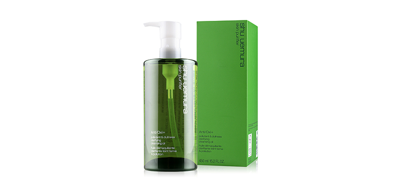 Shu Uemura Skin Purifier Anti/Oxi+ Pollutant & Dullness Clarifying Cleansing Oil 450ml