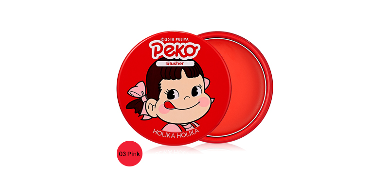 Holika Holika x Peko Chan Melty Jelly Blush 4g #03 Pink ( สินค้าหมดอายุ : 2020.07 )