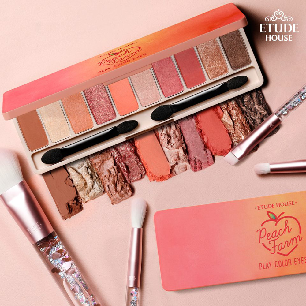 Etude House Play Color Eyes #Peach Farm_1