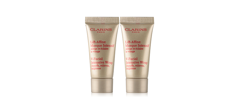 แพ็คคู่ Clarins V-Facial Intensive Wrap (8mlx2pcs)