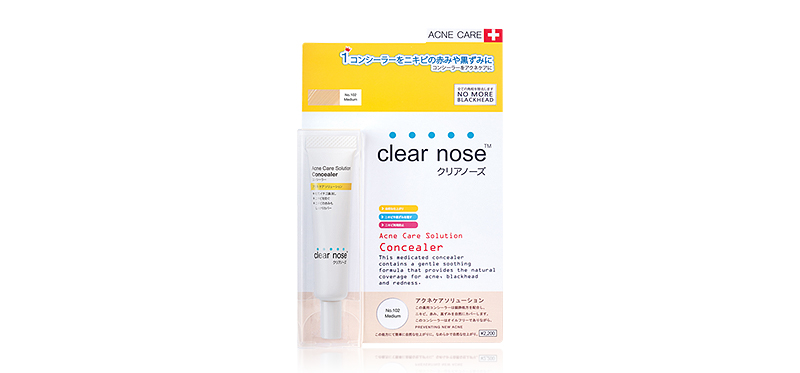 Clear Nose Acne Care Solution Concealer 12g #102 - Medium
