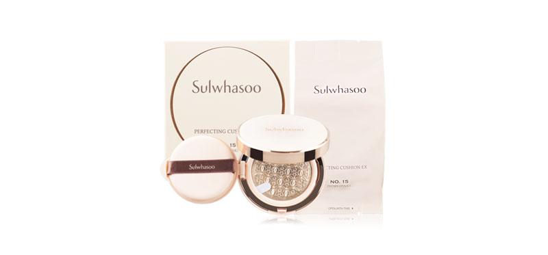 Sulwhasoo Perfecting Cushion EX 30g (15gx2) #No.15 Ivory (Pink)