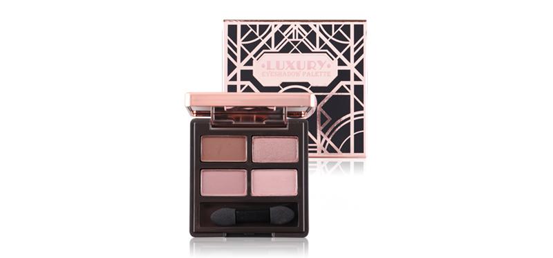 Beauty Cottage Luxury Eyeshadow Palette #02 Rhodonite อายแชโดว์4สี เนื้อเนียนละเอียด จากบิวตี้ คอทเทจ เกลี่ยง่าย สีสันคมชัด ติดทนนาน เพิ่มความโดดดเด่นได้ทุกโอกาส ด้วยสารสกัดจากธรรมชาติให้การบำรุงผิวบริเวณเปลือกตาพร้อมกับการแต่งหน้า