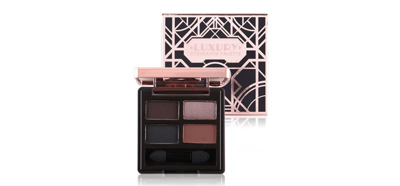 Beauty Cottage Luxury Eyeshadow Palette #03 Obsidian ( สินค้าหมดอายุ : 2021.06 )